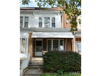 Rental Homes for Rent, ListingId:30786428, location: 633 North Saint Elmo Street Allentown 18104