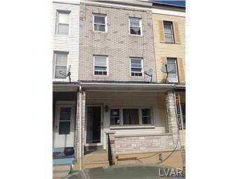 Rental Homes for Rent, ListingId:30821735, location: 265 East Elm Street Allentown 18109