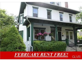 Rental Homes for Rent, ListingId:30821741, location: 1447 North 19Th Street Allentown 18104