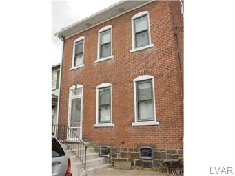 Rental Homes for Rent, ListingId:30845135, location: 529 Ontario Street Bethlehem 18015