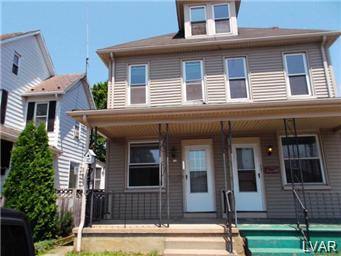Rental Homes for Rent, ListingId:30869791, location: 1521 Northampton Street Easton 18042