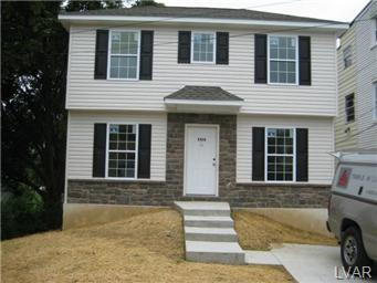 Rental Homes for Rent, ListingId:30932857, location: 1316 South RACE Street Allentown 18103