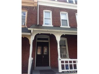 Rental Homes for Rent, ListingId:30975247, location: 139 North 10th Street Allentown 18102