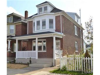 Rental Homes for Rent, ListingId:30984493, location: 282 West Wilkes Barre Street Easton 18042