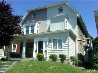 Rental Homes for Rent, ListingId:30984482, location: 606 West Union Boulevard Bethlehem 18018
