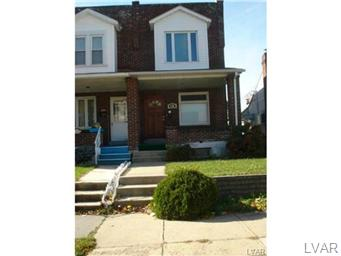 Rental Homes for Rent, ListingId:31003421, location: 1318 South 3RD Street Allentown 18103
