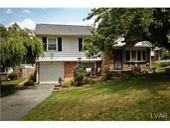 Rental Homes for Rent, ListingId:31017551, location: 2509 South Lumber Street Allentown 18103
