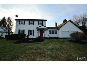 Rental Homes for Rent, ListingId:31017530, location: 1308 South Krocks Road Allentown 18106