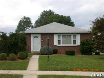 Rental Homes for Rent, ListingId:31017479, location: 2337 2339 West South Street Allentown 18104