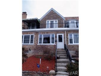 Rental Homes for Rent, ListingId:31032554, location: 2022 West Washington Allentown 18104