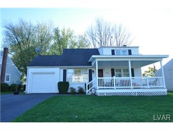 Rental Homes for Rent, ListingId:31049020, location: 819 Cibby Street Bethlehem Twp 18020