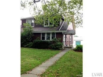 Rental Homes for Rent, ListingId:31095283, location: 1408 West Union Boulevard Bethlehem 18018