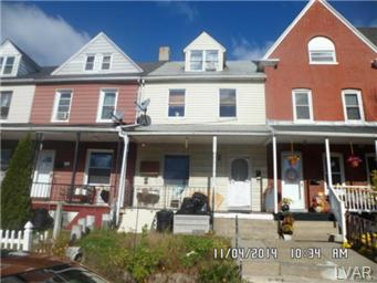 Rental Homes for Rent, ListingId:31153283, location: 1149 Butler Street Easton 18042