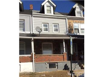 Rental Homes for Rent, ListingId:31237519, location: 415 South Bradford Street Allentown 18109