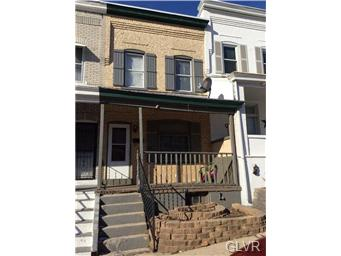 Rental Homes for Rent, ListingId:31237520, location: 147 East SOUTH Street Allentown 18109