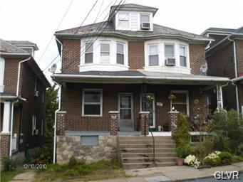 Rental Homes for Rent, ListingId:31249244, location: 481 Williams Street Easton 18042
