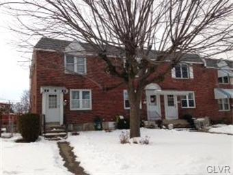Rental Homes for Rent, ListingId:31476416, location: 761 Benton Street Allentown 18103