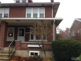 Rental Homes for Rent, ListingId:31656902, location: 1034 North 18Th Street Allentown 18104