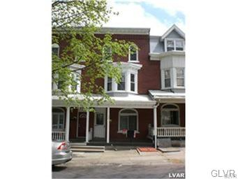 Rental Homes for Rent, ListingId:31891493, location: 127 South 14th Street Allentown 18102