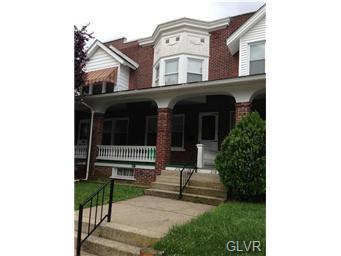Rental Homes for Rent, ListingId:32242031, location: 216 North Saint George Street Allentown 18104