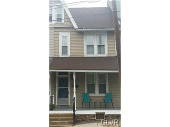 Rental Homes for Rent, ListingId:32308109, location: 41 East Cumberland Street Allentown 18103