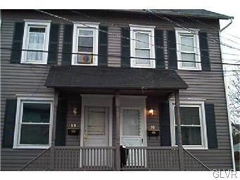 Rental Homes for Rent, ListingId:32418240, location: 53 West Spruce Street Bethlehem 18018