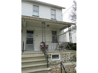Rental Homes for Rent, ListingId:32555602, location: 236 North 7th Street Bangor 18013