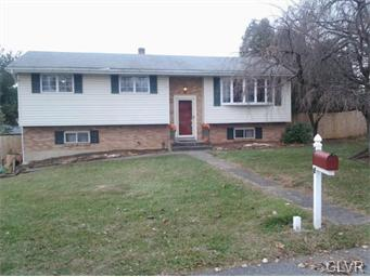 Rental Homes for Rent, ListingId:33072885, location: 1545 1St Street Bethlehem Twp 18020