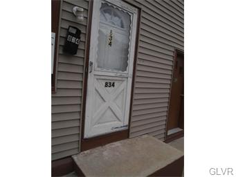 Rental Homes for Rent, ListingId:33125228, location: 834 Wyandotte Street Bethlehem 18015