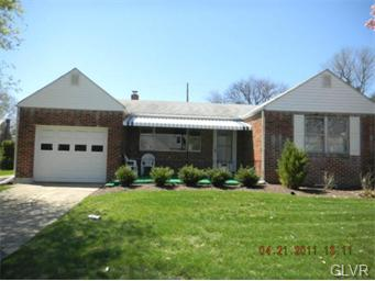 Rental Homes for Rent, ListingId:33377999, location: 432 South 23Rd Street Allentown 18104