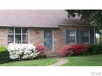 Rental Homes for Rent, ListingId:33456917, location: 2677 South Street Allentown 18104