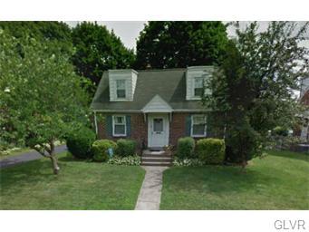 Rental Homes for Rent, ListingId:33494654, location: 1916 East Columbia Street Allentown 18109
