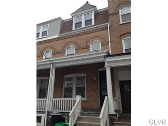 Rental Homes for Rent, ListingId:33575182, location: 218 North Madison Street Allentown 18102