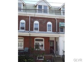 Rental Homes for Rent, ListingId:33602131, location: 1338 .5 West Liberty Street Allentown 18102