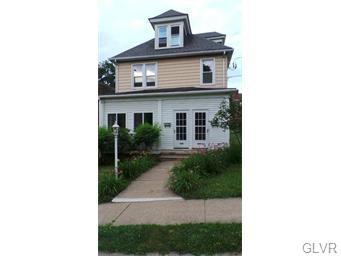 Rental Homes for Rent, ListingId:33654250, location: 830 1/2 McCartney Street Easton 18042