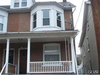 Rental Homes for Rent, ListingId:33960307, location: 1027 Seneca Street Bethlehem 18015