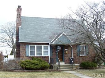 Rental Homes for Rent, ListingId:33960268, location: 1151 Ridge Avenue Allentown 18102