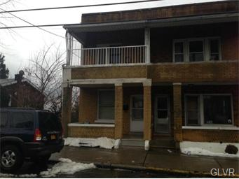 Rental Homes for Rent, ListingId:33894347, location: 318 South Bradford Allentown 18109