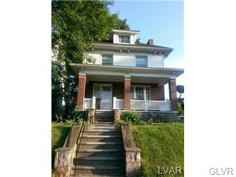 Rental Homes for Rent, ListingId:34037632, location: 827 West Broad Street Bethlehem 18018