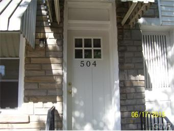 Rental Homes for Rent, ListingId:34086624, location: 504 North 9th Street Allentown 18102