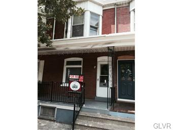 Rental Homes for Rent, ListingId:34292576, location: 1931 Liberty Street Allentown 18104