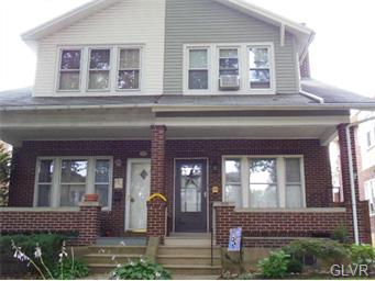 Rental Homes for Rent, ListingId:34361880, location: 1130 North 21St Street Allentown 18104