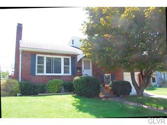 Rental Homes for Rent, ListingId:34361863, location: 534 Forrest Avenue Bethlehem 18017