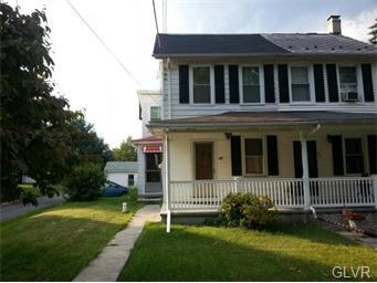 Rental Homes for Rent, ListingId:34719457, location: 25 Church Street Alburtis 18011