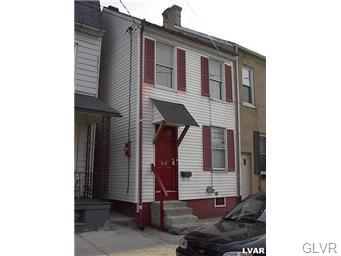 Rental Homes for Rent, ListingId:34794787, location: 818 Allen Street Allentown 18102