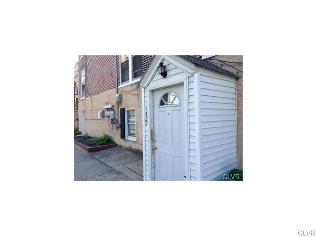 Rental Homes for Rent, ListingId:34833093, location: 1427 West Walnut Street Allentown 18102
