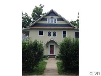 Rental Homes for Rent, ListingId:34833099, location: 139 Parker Avenue Easton 18042