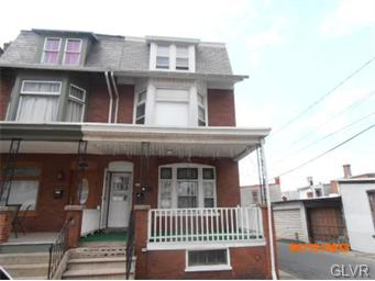 Rental Homes for Rent, ListingId:34890286, location: 530 North 11th Street Allentown 18102