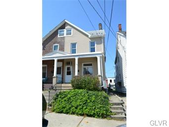 Rental Homes for Rent, ListingId:34917276, location: 820 South Hall Street Allentown 18103