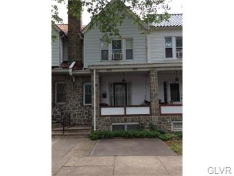 Rental Homes for Rent, ListingId:35047036, location: 524 North Saint George Street Allentown 18104